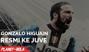 Gonzalo Higuain Resmi ke Juve