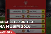 Jadwal Tur Pra Musim Manchester United 2016