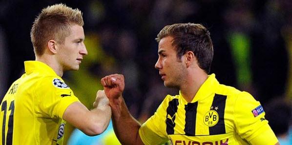 Mario Gotze Reuni dengan Marco Reus di Dortmund