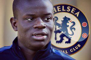 N'Golo Kante ke Chelsea