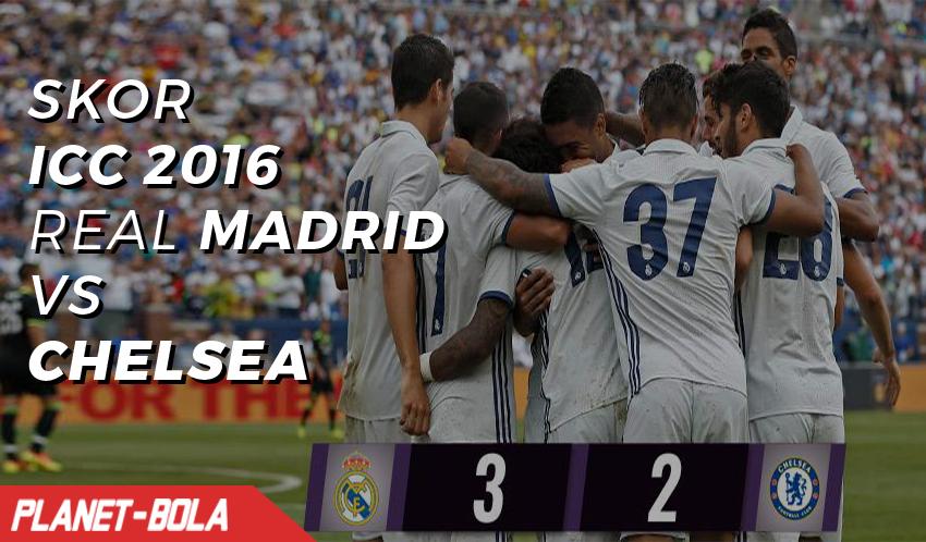 Real Madrid Menang Tipis Atas Chelsea di ICC 2016