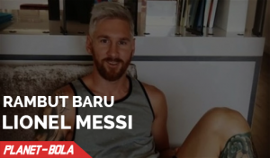 Rambut Baru Lionel Messi