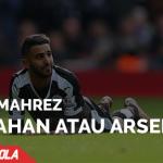 Riyad Mahrez Antara Arsenal dan Leicester City