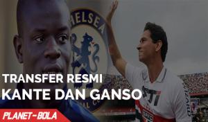 Transfer Resmi Kante dan Ganso