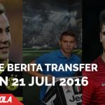 Rangkuman Transfer 21 – 22 Juli Liga Top Eropa