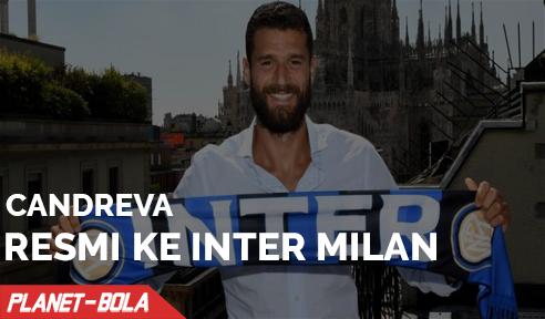 Candreva Resmi Pindah ke Inter Milan