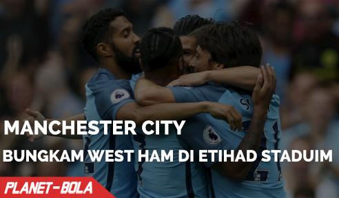 City Bungkam West Ham Dengan Skor 3-1