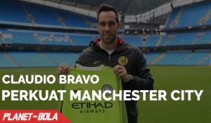 Claudio Bravo Resmi Perkuat Manchester City