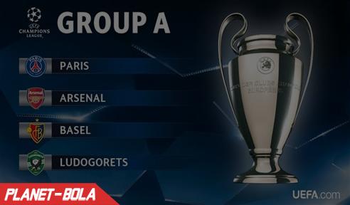 Grup A Babak Fase Grup Liga Champion 2016