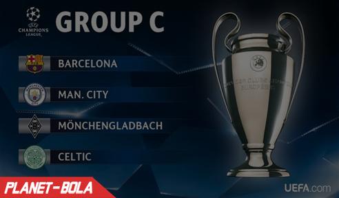 Grup C Babak Fase Grup Liga Champion 2016