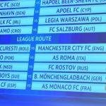Hasil Resmi Babak Play Off Liga Champions 2016-2017