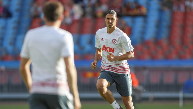 Ibra Optimis MU Mampu Menangi Community Shield