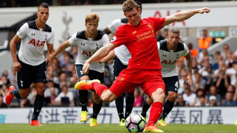 James Milner Cetak Gol untuk Liverpool