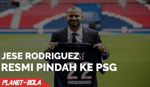 Jese Rodriguez Resmi Pindah ke PSG