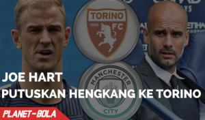 Joe Hart Pindah ke Torino