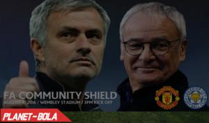 Man Utd vs Leicester City, Community Shield 2016