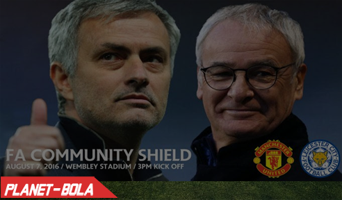 Man Utd vs Leicester City, Community Shield 2016