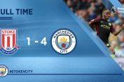 Manchester City Menang Besar Atas Stoke