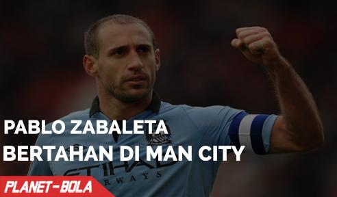 Pablo Zabaleta Pilih Untuk Bertahan di City