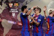 Piala Super Spanyol 2016, Sevilla Vs Barcelona