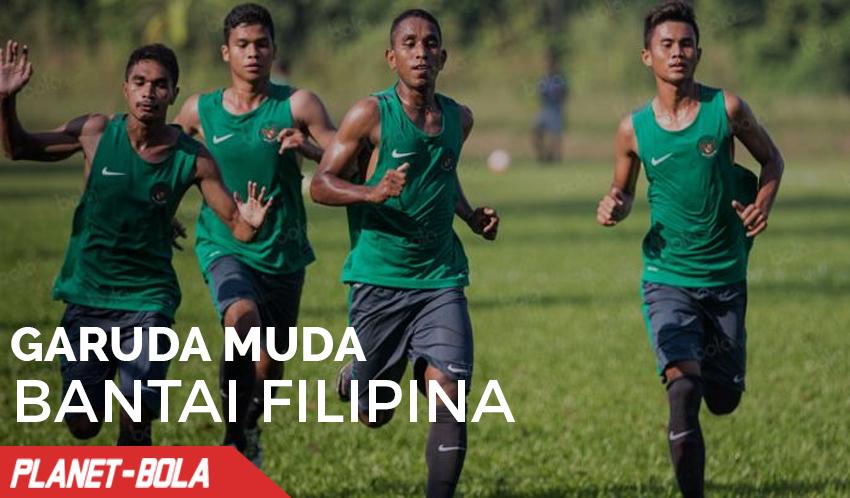 Garuda Muda Bantai Filipina 3-1