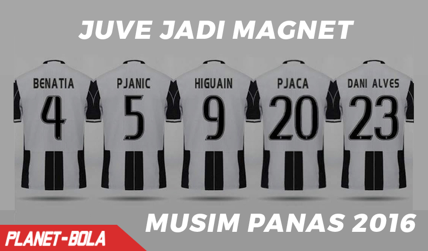 Juve Jadi Klub Yang Sukses di Bursa Transfer Pemain Musim 2016