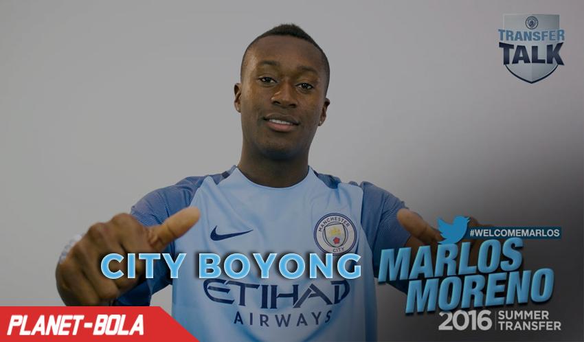 Manchester City Resmi Dapatkan Marlos Moreno