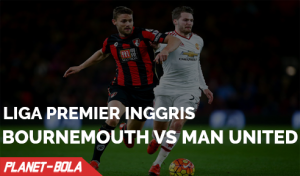 Prediksi Laga Bournemouth vs Man Utd 14 Agustus 2016