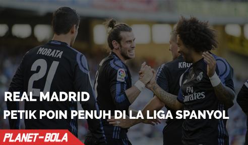Real Madrid Petik oin Penuh Di Anoeta