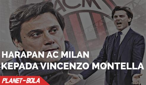 Harapan AC Milan Atas Kedatangan Vincenzo Montella