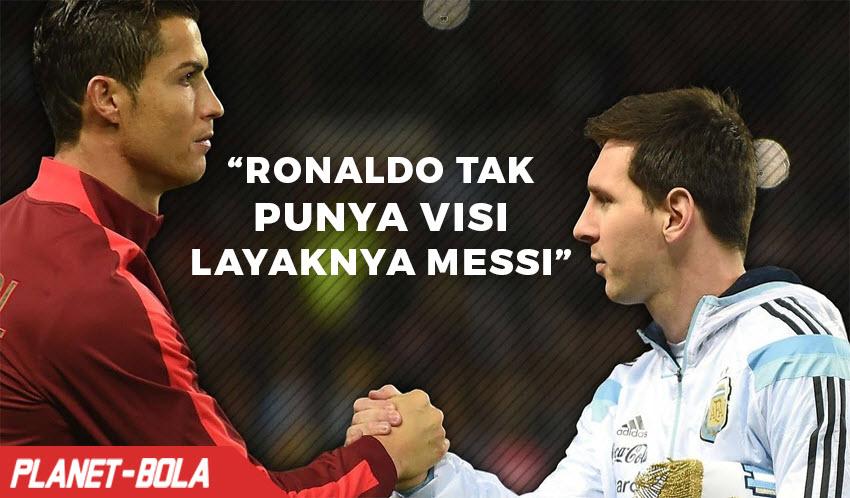 Laudrup, Ronaldo Tak Punya Visi Layaknya Messi