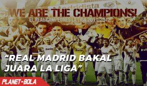 Madrid Lebih Difavoritkan Juara LaLiga Spanyol Ketimbang Barcelona