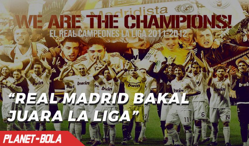 Madrid Lebih Difavoritkan Juara La Liga Spanyol Ketimbang Barcelona