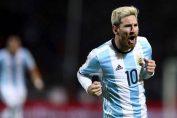 Messi Cetak Gol Kemenangan Argentina Atas Uruguay