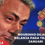 Heboh! MU melarang Mourinho belanja di Bursa transfer Januari