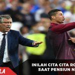Inilah ternyata cita cita Ronaldo setelah pensiun
