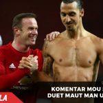 Inilah kata Mourinho tentang duet Rooney dan Ibrahimovic