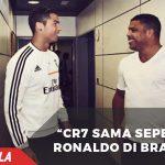 Mengagumkan Cristiano dianggap seperti Ronaldo di Brasil