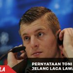Pernyataan Toni kroos selang laga melawan Dortmund
