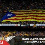 Fans kibarkan bendera Estelada, Barca diancam kena sanksi
