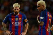 Reaksi Messi dan Neymar Setelah Takluk Dari Tim Promosi La Liga Spanyol, Deportivo Alaves