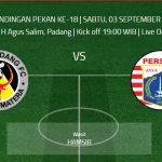 Hasil Pertandingan Semen Padang vs Persija Jakarta