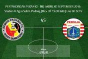 Semen Padang vs Persija