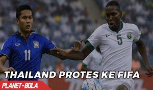 Thailand Protes ke FIFA Tentang Kekalahannya