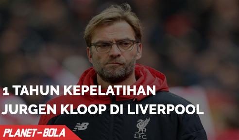 1 Tahun Kepelatihan Klopp Di Liverpool
