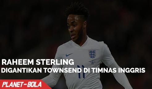 Sterling Resmi Digantikan Townsend Di Timnas Inggris