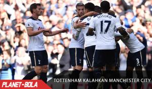 Tottenham Kalahkan Manchester City