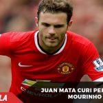 Juan Mata berhasil curi kepercayaan Mourinho