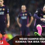 Tak tahan emosi, Messi hampir berkelahi dengan pemain City