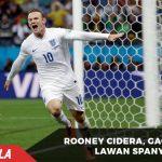 Cedera Lutut, Rooney Gagal Perkuat Inggris Melawan Spanyol